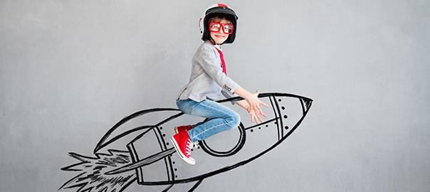 Confident-Youth-riding-a-rocket-ship